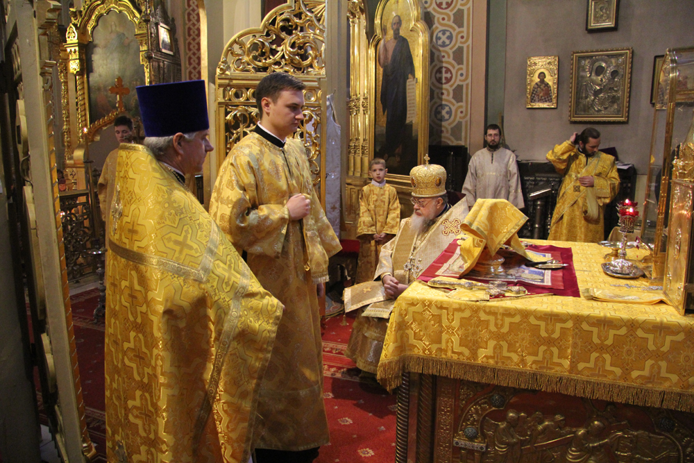 Poland : Metropolitan Sawa leading celebrations